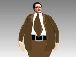 "George Christensen shrugs off ""fat joke"""