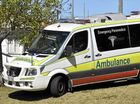 Emergency services rush to truck and ute collision