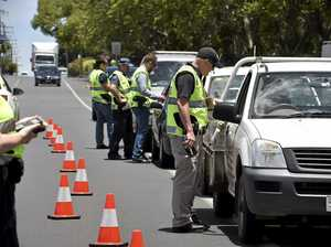 TRAFFIC OPERATIONS: Police set up traffic operations, testing drug and alcohol. Photo Bev Lacey / The Chronicle
