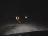 Even light snow can be hazardous.