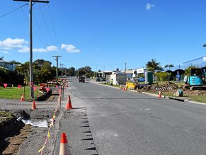 Roadworks at Oak St, Gympie: What's it all about?