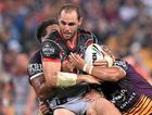 TOUGH NUT: Simon Mannering of the New Zealand Warriors will play his 250th game this weekend.
