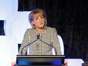 Senator Michaelia Cash at the Trucking Australia conference last week.