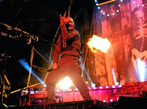 The Hard Word: Slipknot singer drinks own vomit
