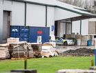 Police were at Oji Fibre Solutions, Hamilton, after body parts were found.