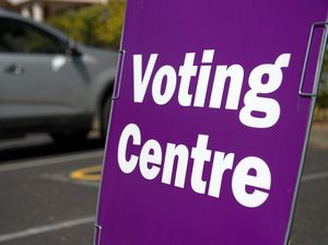 federal election voting booth  Photo: Trevor Veale / The Coffs Coast Advocate