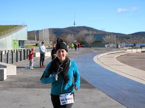 Mel past halfway through epic seven marathon series