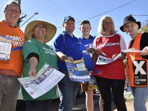 Confusion reigns as voters head to polls in Toowoomba