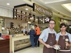 Muffin Break barristers win awards in competition. Muffin Break Grand Central franchisee Rob Schatz and barista Dolly Nicholson. July 1, 2016