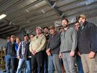 TAKING A STAND: Bunbaberg sweet potato growers want to be paid. Photo: Eliza Goetze / NewsMail