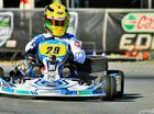HOME AWAY FROM HOME: Bundaberg's Troy Loeskow at the Australia Karting Championship.