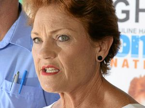 GAINING GROUND: Pauline Hanson could be set for the Senate if Ipswich support on the ground is replicated across the state.