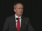 Leader of the Opposition Bill Shorten speaks on election night.