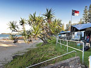 What's next for beachfront caravan park area?