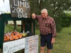 Bruce Hoffman says he is disappointed that some people aren't honest when it comes to paying for fruit in the honesty box in the stall at the front of his home.