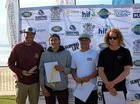 AFTER a four-year hiatus, former World Longboarding champ Josh Constable from Peregian smashed the competition to win the Qld Longboard Titles at the weekend.