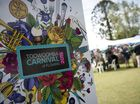 A WOMAN has been fined for a drunken tirade against police and security at the Carnival of Flowers festival in Toowoomba.