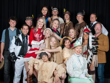 Yeppoon Choral Society's Annie Get Your Gun cast are all excited to perform the classic, Annie Get Your Gun at Yeppoon Town Hall this month. Photo Contributed / The Capricorn Coast Mirror