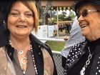 Matt McGuren's mum and grandma come to Ramornie Day to support the jockey.