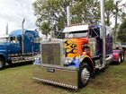 Marshall Watego's Optimus Prime truck at last year's Gold Coast truck show.
