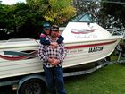 A KYOGLE man has stressed the importance of lifejackets after he and his son rescued three people from the water after their tinny capsized at Ballina.