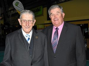 Centenary affair for life member Erick and Gatton Show