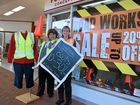TRADE may be down for many central Coffs Harbour businesses, but a handful of shopkeepers are not letting the disruptive road works dampen their spirits.