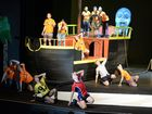 Emmaus College Rockhampton working on a production of Peter Pan.Photo Allan Reinikka / The Morning Bulletin