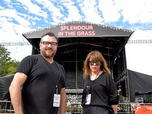 Fence jumpers and rude slogans not on for Splendour