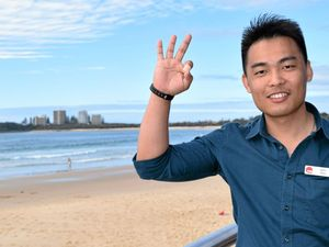 GREAT JOB: Sam Guo, TAFE Queensland's In Country Manager for China and Hong Kong, was in Mooloolaba on Wednesday, July 7, 2016.