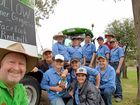Queensland dairy farmer on a mission to raise awarness of diary farmers doing it tough