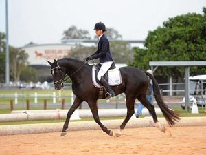 Roma dressage rider trots to victory at Brisbane CDI