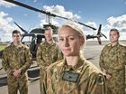 A TRAINEE Army pilot has described the moment she spotted a burning vehicle on a routine training mission overnight.