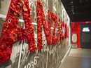 Spirit of Anzac Centenary Experience exhibition.