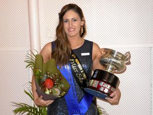 Showgirl Samantha wins quest finals