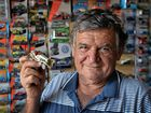 Mad-keen collector Mick Issacs has a passion for vehicles of all shapes... and sizes.