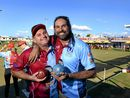 Origin legends warm up with lawn bowls