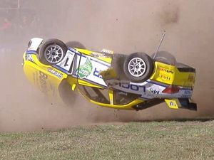WATCH: Aussie Racing Cars champ rolls six times
