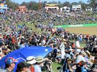 Fans at the Coates Hire Ipswich SuperSprint on Saturday.