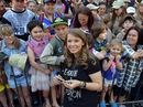 Bindi Irwin celebrates her 18th birthday with family, friends and animals at Australia Zoo.