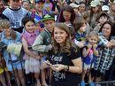 Bindi Irwin celebrates her 18th birthday with family, friends and animals at Australia Zoo.