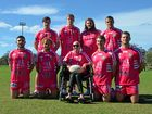 Lismore rugby league players took to the paddock in pink on Saturday to help charity organisation Jodie's Inspiration raise money for new hospital equipment.