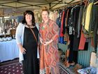 HEAVY rainfall at this year's Rockhampton River Festival meant local stall holders Nicole O'Donnell and Kathryn Creed didn't get the chance to sell their stuff.
