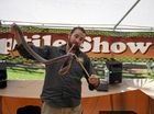Luke's Reptile Show was a popular attraction at the 2016 Farm Fantastic on Saturday July 23. Photo Kyle Zenchyson / Caboolture News