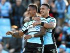 Barba and birthday boy Valentine Holmes sparked Cronulla to the club's 15th straight win