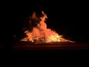 WATCH: Killarney Bonfire Night fires up