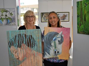 Works by local artists on display at Inala gallery