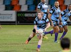 Norths player D Allen in the rugby league game between Norths and Fitzroy Gracemere at Browne Park on Saturday night.   Photo: Chris Ison / The Morning Bulletin