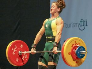 FIT AND STRONG: Maroochy River's Tia-Clair Toomey will head to Rio for weightlifting after finishing second at the World Crossfit Games.