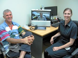 Telehealth figures rocket in Roma